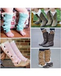 Girls Boot Leg Warmers - Nico Bella Boutique