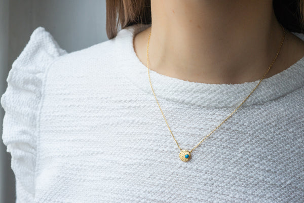 collier turquoise Audrey Langlois