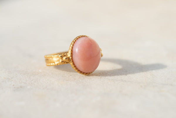 Bague Cosmo opale rose Audrey Langlois