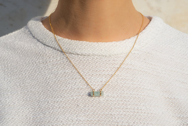Collier Crystal Clear - Aigue-Marine