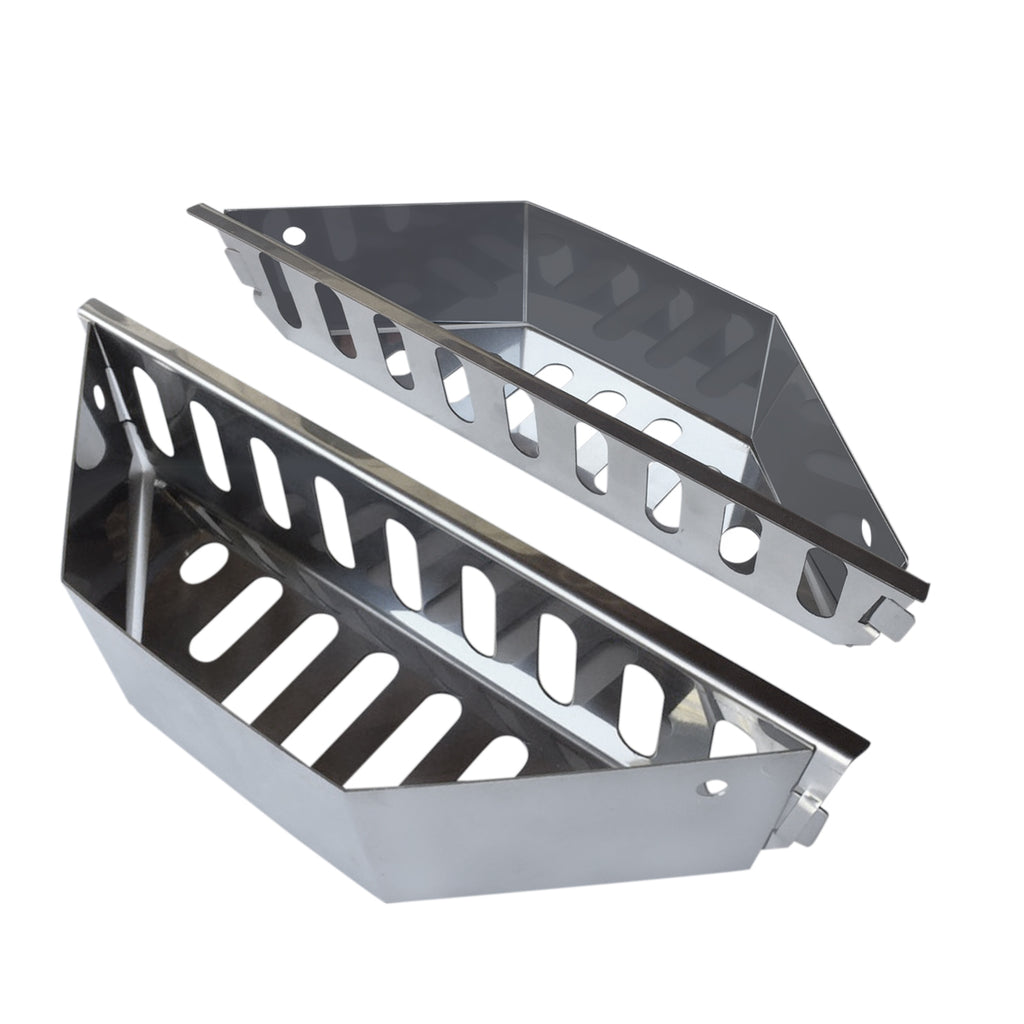 430 SS Charcoal Baskets (Set of 2)