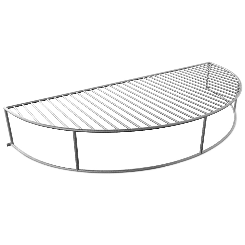 The Original 'Upper Deck' Stainless Steel Grilling Rack/ Warming Rack /Smoking Rack/ Charcoal Grill Grate- Use with Weber 22 inch Kettle Grill- Charcoal Grilling Accessories and Grill Tools Grill Racks