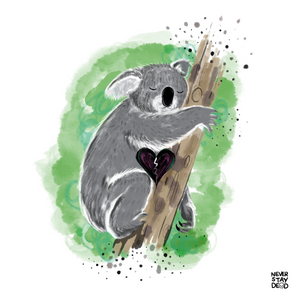 Koala (Australia Aid Fundraiser for WIRES Wildlife Rescue) 8x8 Print
