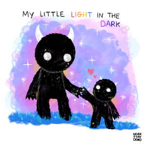 'My Light In The Dark' 8x8 Print (Limited edition of 25)
