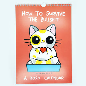 How To Survive The BS' 2020 Calendar (A4)