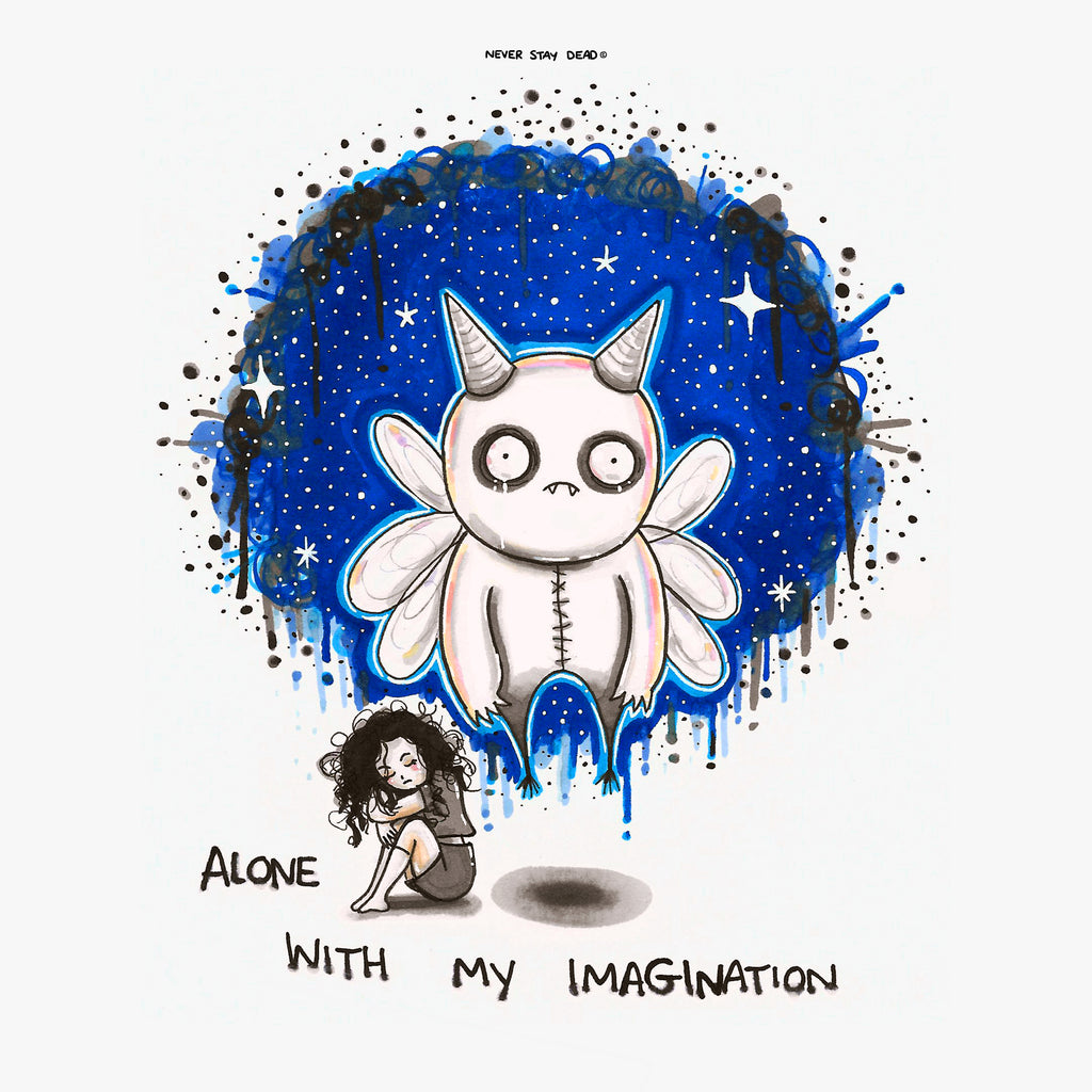 'Alone With My Imagination' Print