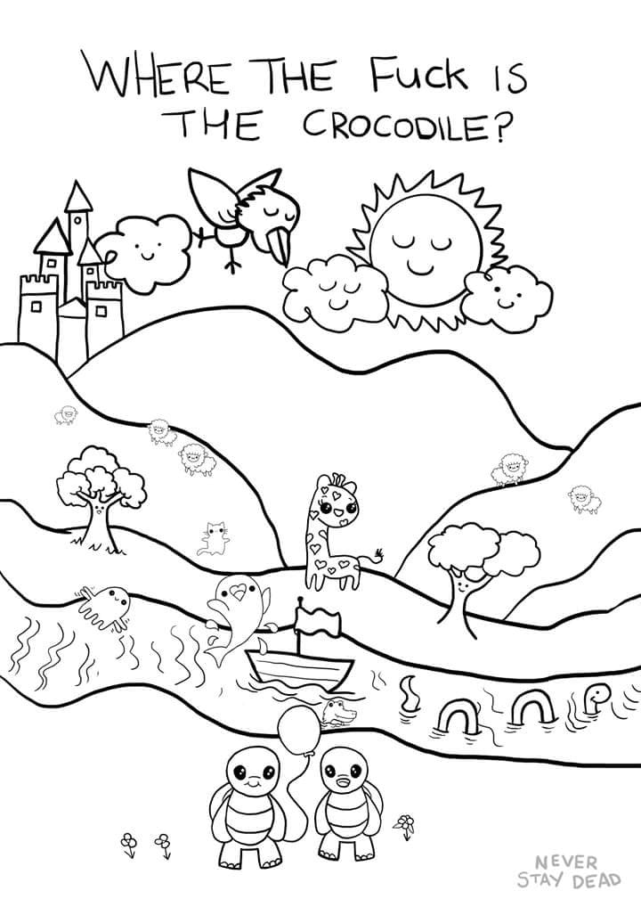 Colouring & Activity Book (vol 1)