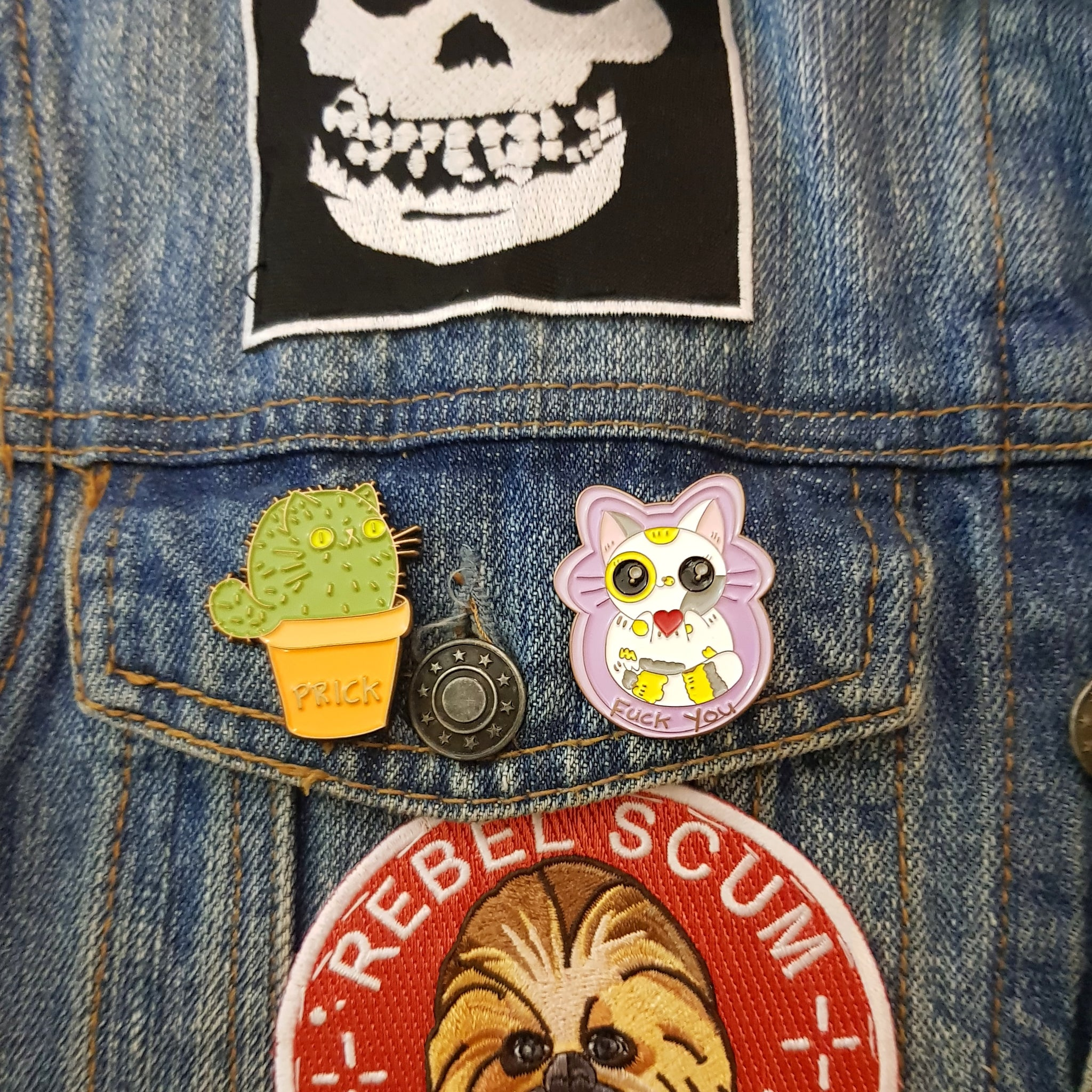 Enamel Pins (Choose From 2 Designs)