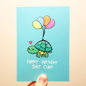 'Happy Birthday...' Turtle Card