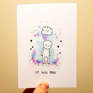 'It Will Pass' Card