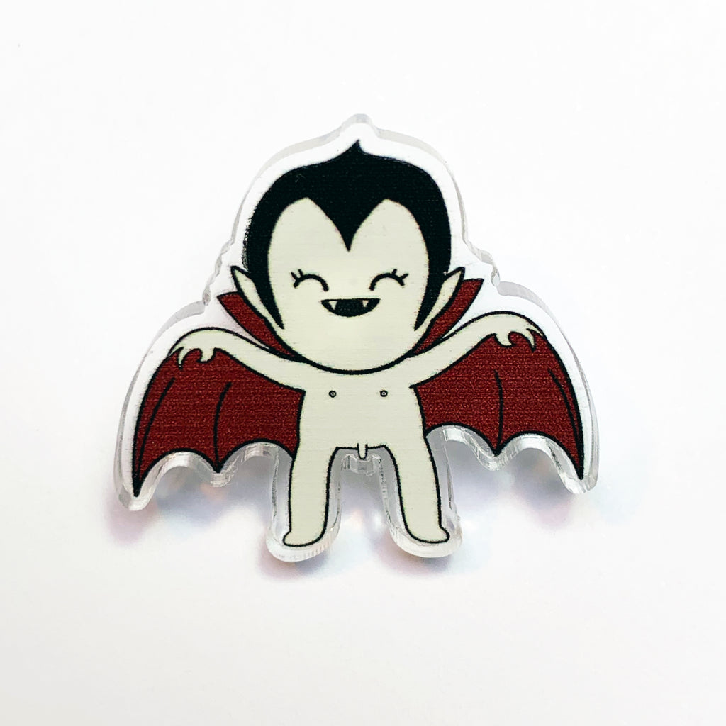 'Count Flash-U-La' Pin