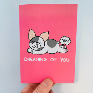 'Dreaming Of You' Frencie Card