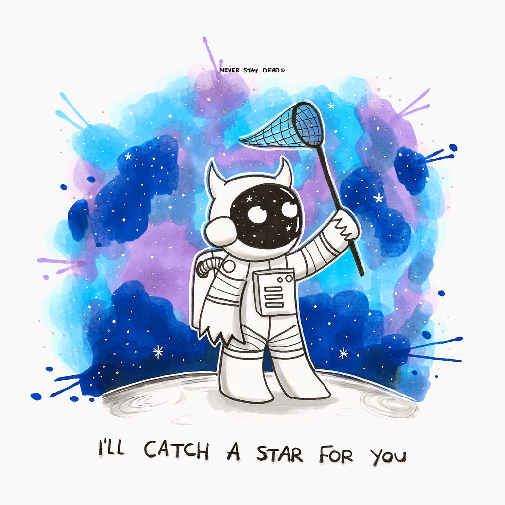 'I'll Catch A Star For You' Print