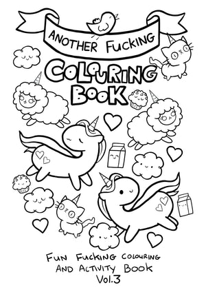 Pre-Order - Colouring & Activity Book (vol 3) RESTOCK June 30th