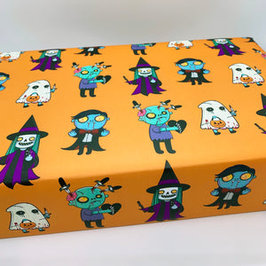 Spooky Wrapping Paper (A2 Sheet)