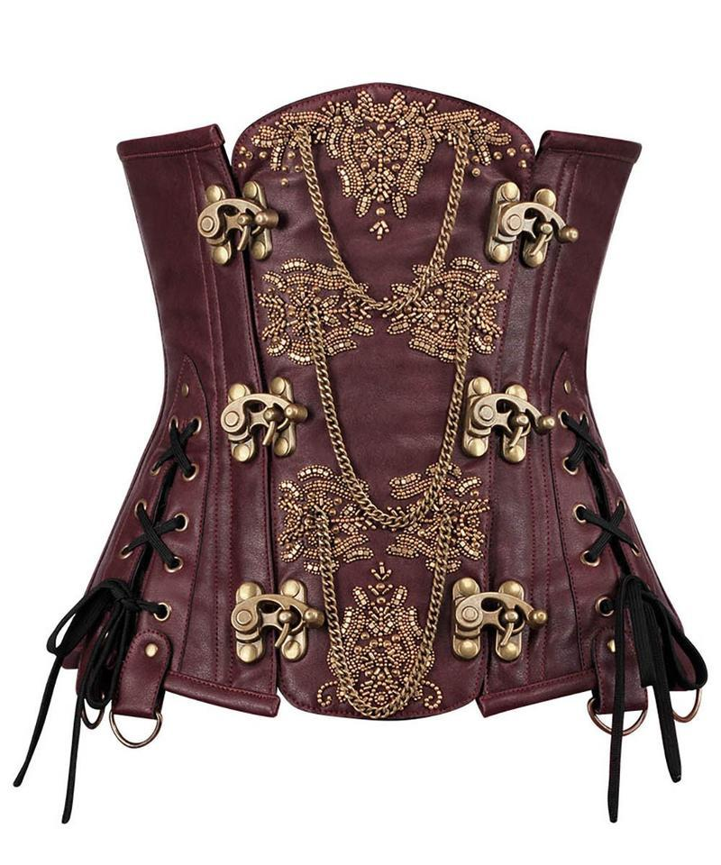 Akerman Steampunk Couture Corset