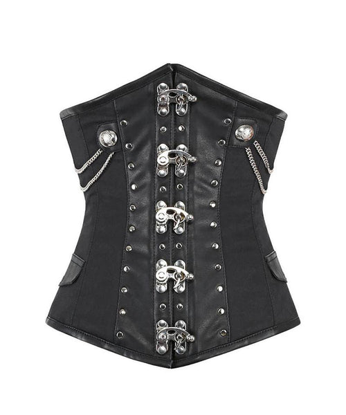 Ted Gothic Cotton Underbust Corset