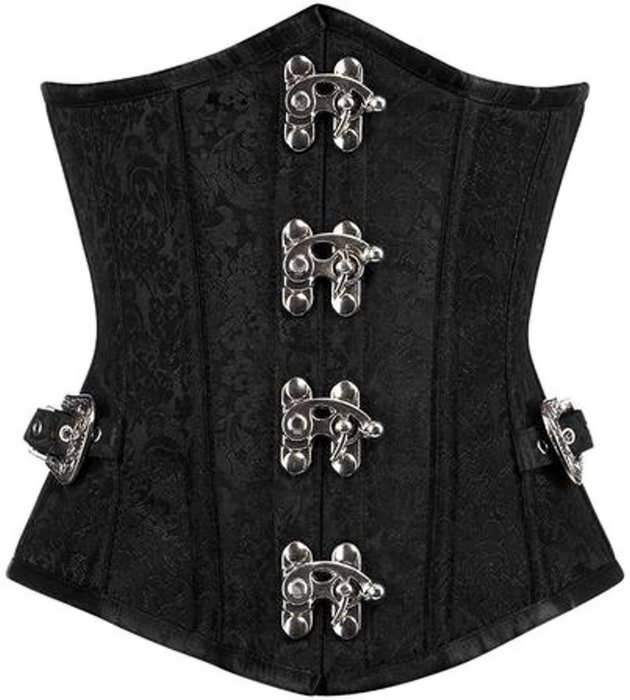 Arian Brocade Underbust with side buckles