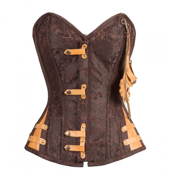 Bev Brown Steampunk Corset