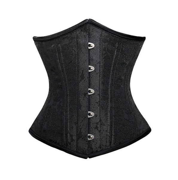 Alya Brocade Underbust Waist Training Corset - DEMO for Corset