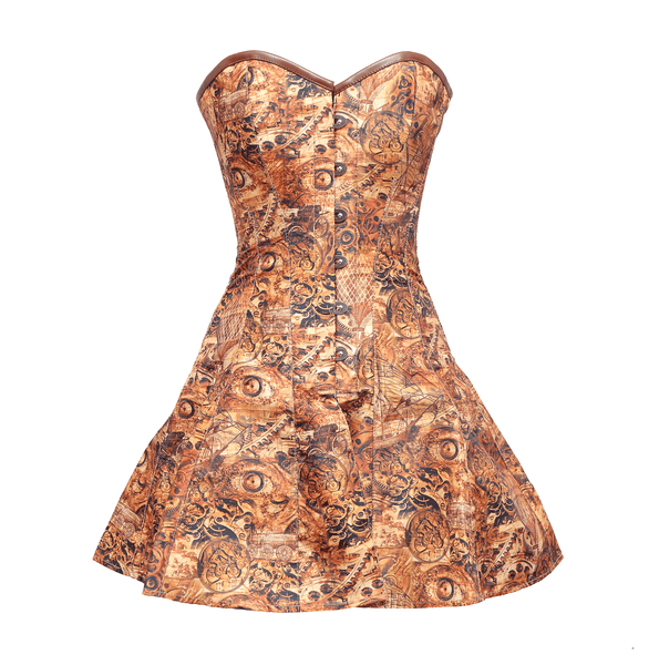 Karl Steampunk Corset Dress