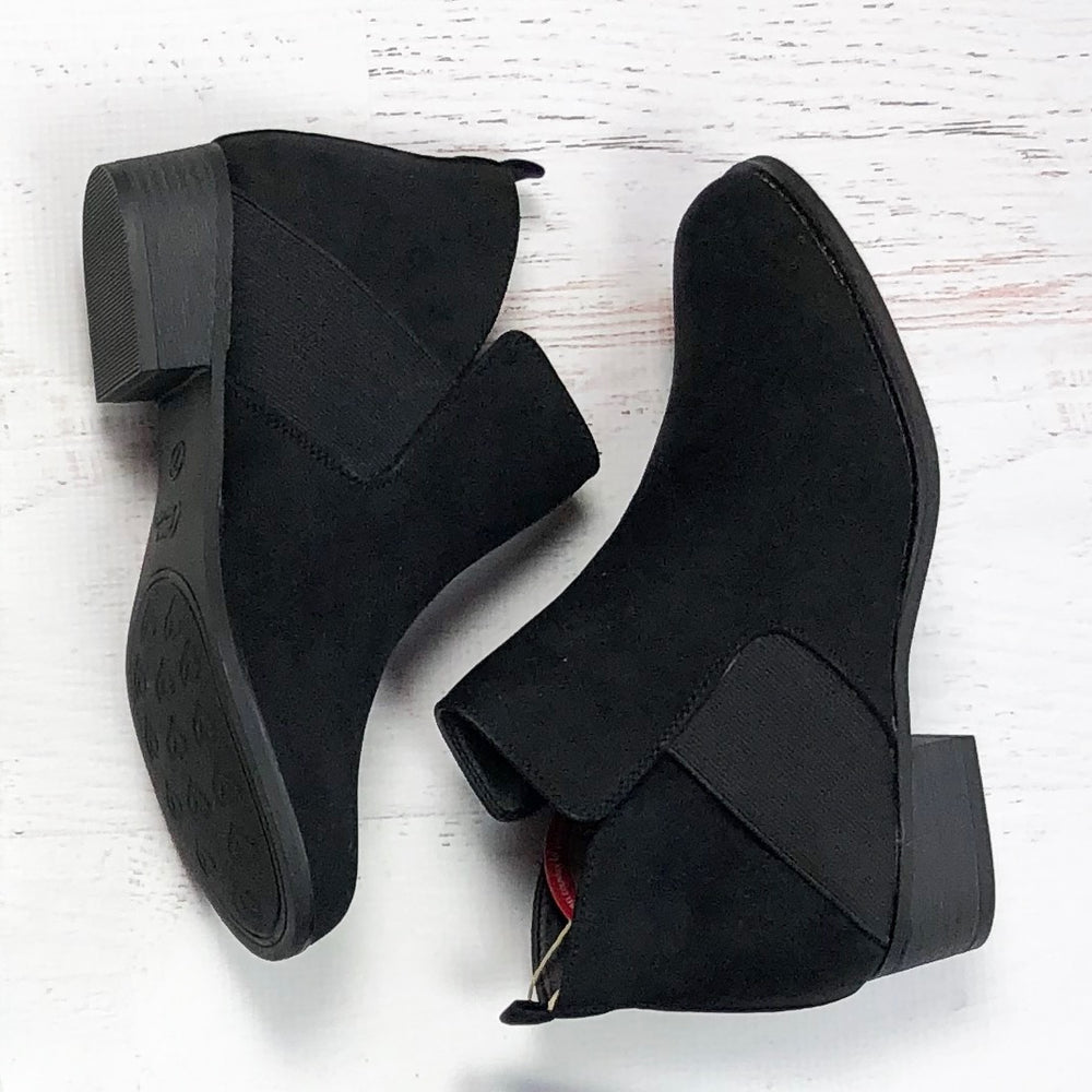 Mia Black Booties