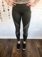 Athletic Leggings - 4 styles/4 colors