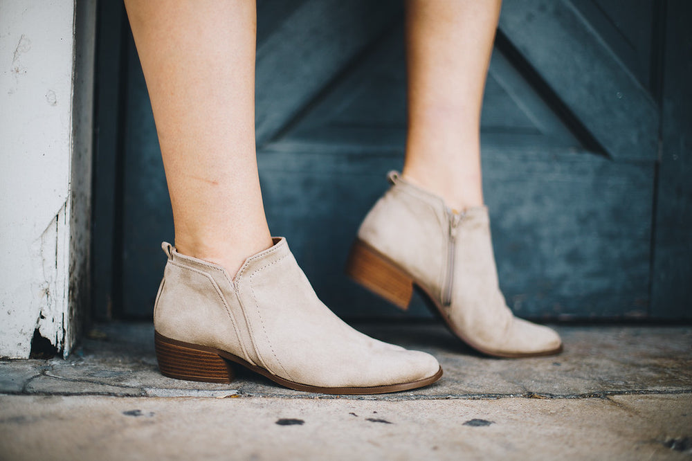 Best Taupe Booties