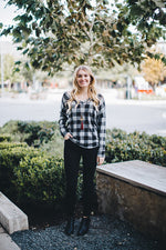 Black & White Buffalo Plaid