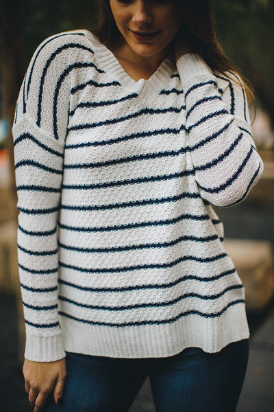 Avery V-Neck Sweater