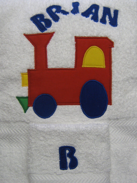 Towel Set with Name