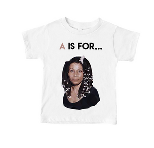 A Is For...Assata Toddler Tee