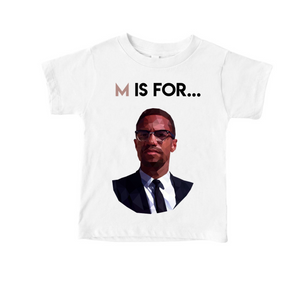 M is for...Malcolm Toddler Tee