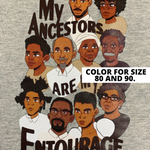 My Ancestors Are My Entourage Gray Jogger Set (CHECK COLOR SELECTION)