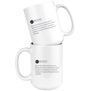 Black Vibe Tribe Tweet Mug