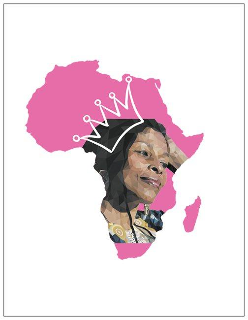 Mama Assata Greeting Card
