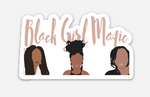 Black Girl Magic Sticker
