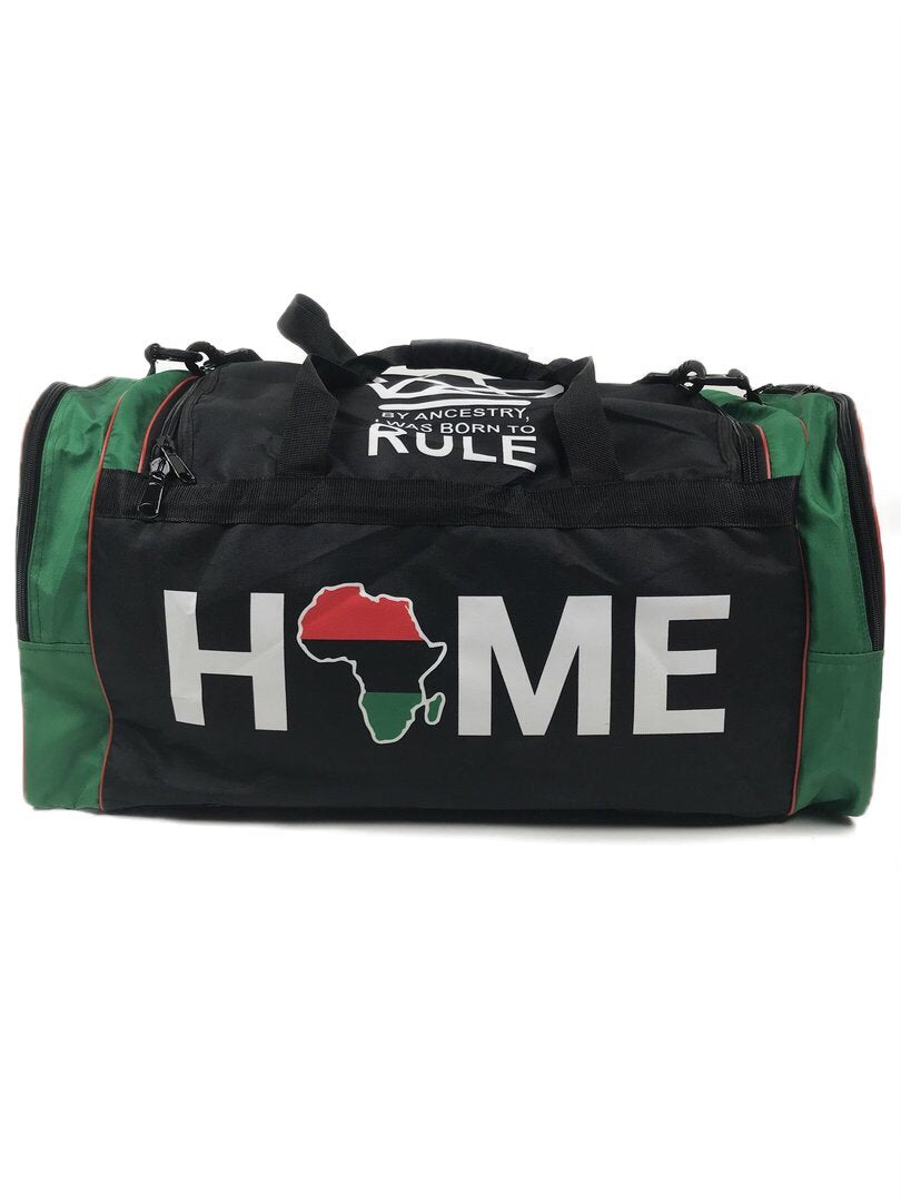 Africa Home RBG Duffel Bag