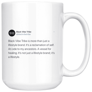 Open image in slideshow, Black Vibe Tribe Tweet Mug