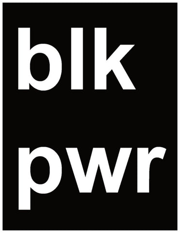 Blk Pwr Greeting Card