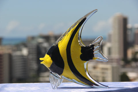 Ocean Fish in Yellow and Black