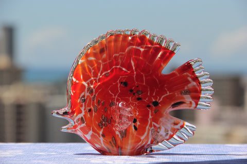 Ocean Fish in Red