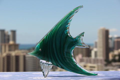 Ocean Fish in Bright Green