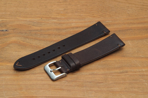 Cocoa Leather Watch Strap