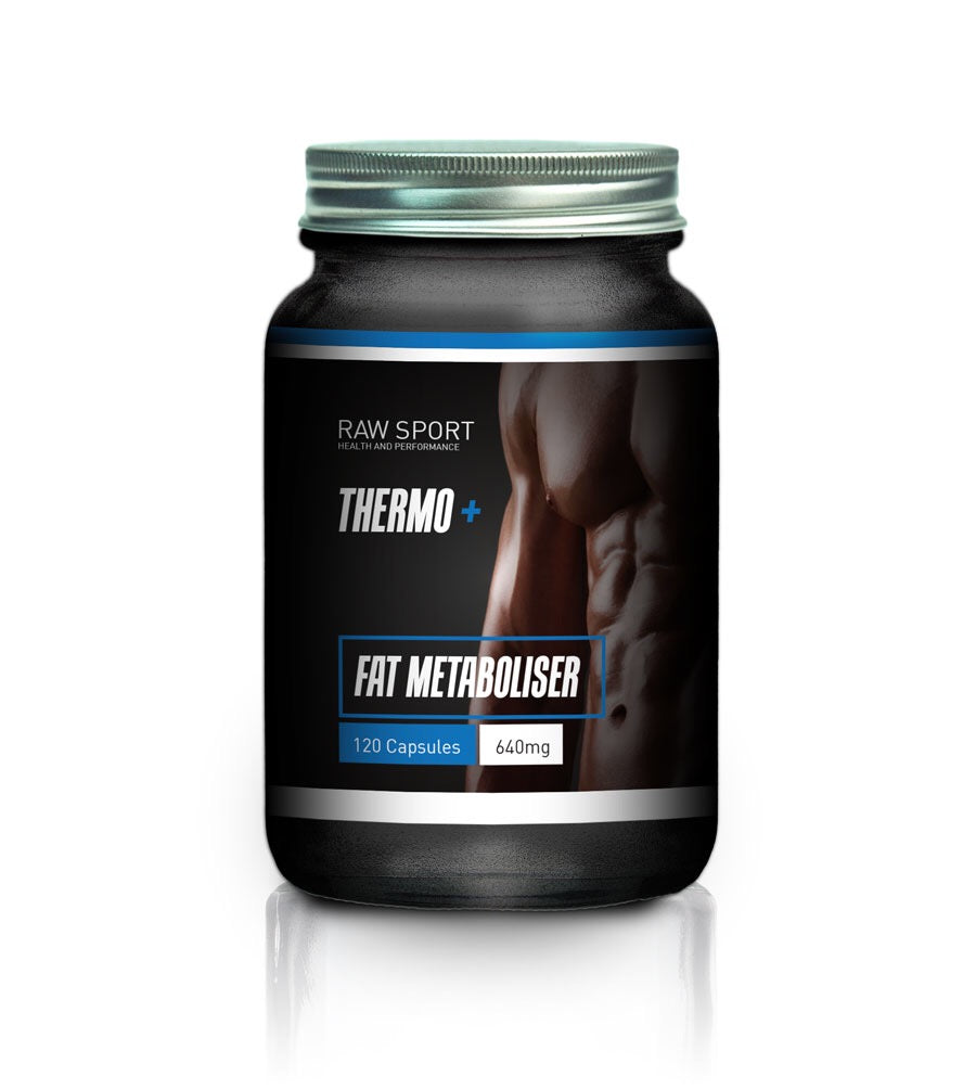 Raw sport mens fat metaboliser formula 120 capsules