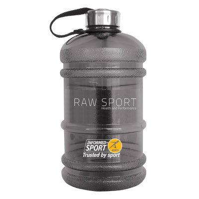 Raw Sport 2ltr Water Bottle (BPA Free) - Revolution Foods (pioneers in plant nutrition)