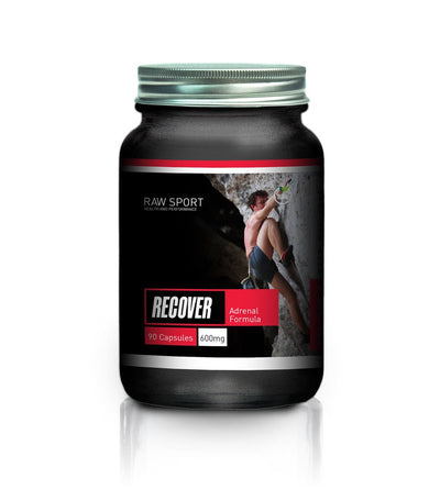 Raw sport recover adrenal formula 90 capsules - Revolution Foods (pioneers in plant nutrition)