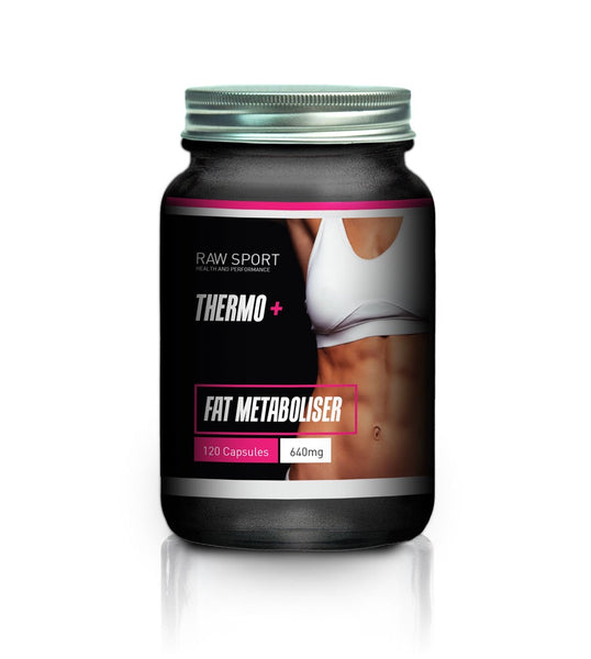 Raw sport womens fat metaboliser formula 120 capsules
