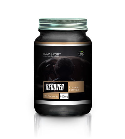 Raw Sport Recover Immune Formula 90 capsules - Revolution Foods (pioneers in plant nutrition)
