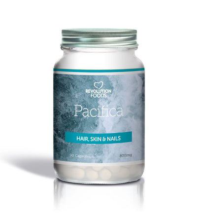 Pacifica Hair Skin and Nails - 90 Caps - Revolution Foods (pioneers in plant nutrition)